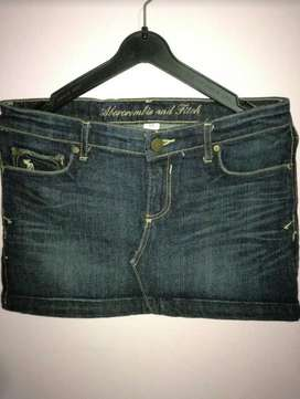Falda Mini Marca Abercrombie And Fitch