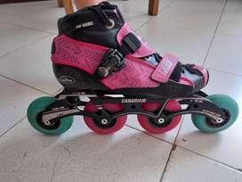 Se vende patines Canariam,  en excelente estado. 500 mil
