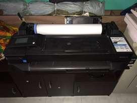 PLOTER HP -T120 60cms Para Reperar La Flex De la Pantalla