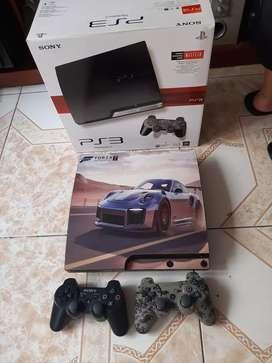 VENDO PS3 SLIM CON 2.CONTROLES RECIBO PS2