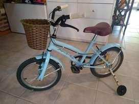 Bicicleta niño rod12 usada