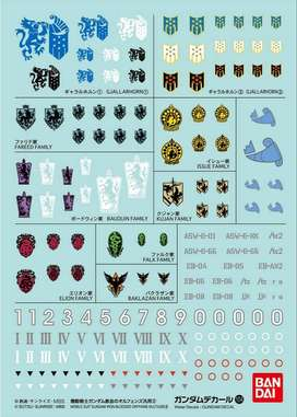GUNDAM DECAL HG FOR IRON-BLOODED ORPHANS SERIES 2 N°104