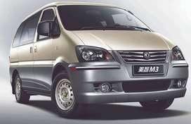 Minivan M3 con motor Mitsubishi