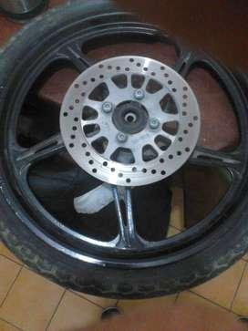 Vendo rueda de new crypton