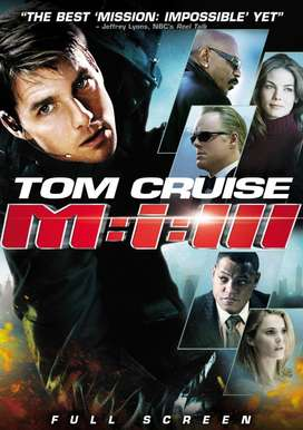 Pelicula Mision Imposible 3 DVD