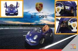 Carro a batería para niños Porsche GT 0911