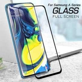 COVER FULL GLASS TEMPLADO DE PANTALLA SAMSUNG A51
