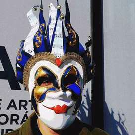 Mascaras Venecianas Artesanales Dj Boris