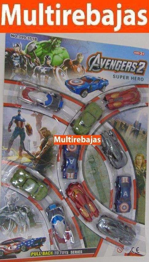 10 Carros Avengers Super Heroes 0