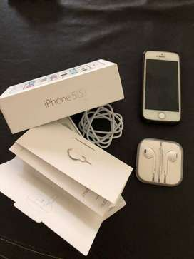 Vendo Iphone 5S impecable!