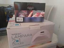 LAMPARA MASGLO 2 EN 1 UV/LED