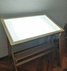 Mesa De Dibujo-Luz LED-Un pliego