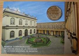 BLISTER 450 AÑOS DE LA CASA NACIONAL DE MONEDA
