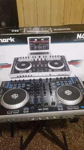 Numark Serato N4 Controlador Mixer Dj Usb 4 Canales