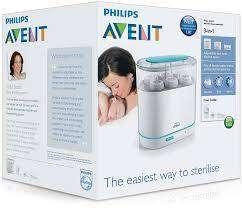 Philips AVENT 3-in-1 Electric Steam Sterilizer - Usado