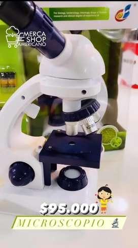 Microscopio para niños Educativo