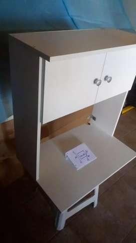 Mueble colgante para microondas