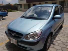 De oportunidad vendo Hyundai Getz 1.4 año 2011