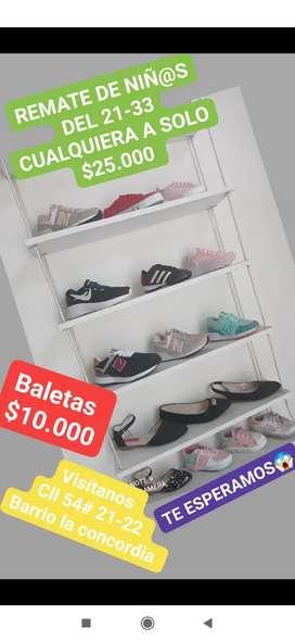 REMATE de zapatos de niñ@s