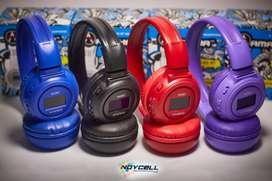 Audifonos Diadema N65 Bluetooth Radio Fm