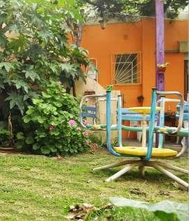 Dño Dir - Casa con jardín