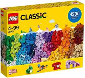 LEGO Classic 10717 Bricks 1500 Piece Set Encourages Creativity in all Ages Ideal for Creators of Brick Separator Include