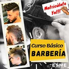 Curso básico Barbería