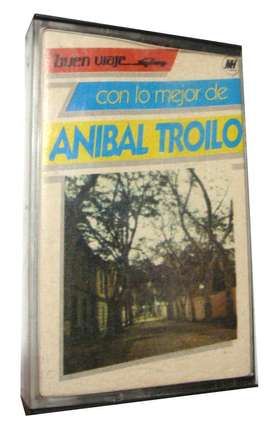 Cassette Buen Viaje Con Lo Mejor De Anibal Troilo Tango