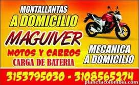desvare de motos a domicilio y mecanica a domicilio maguiver 310'8565274 bucaram'anga ojo montallantas