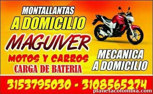 desvare de motos a domicilio y mecanica a domicilio maguiver 310'8565274 bucaram'anga ojo montallantas 0