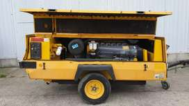 Compresor Diésel 375cfm para Mina Carbón