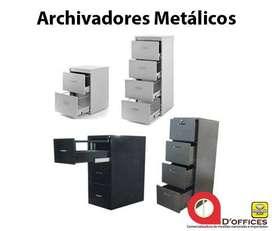 ARCHIVADOR METALICO PARA OFICINA