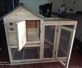 Casa para conejo