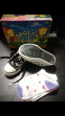 Zapatillas jaguar Nuevas en caja