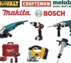 Reparaciones de herramientas eléctricas en general
