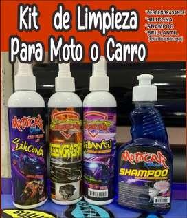 Promoción  kit de limpieza