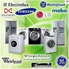 Servicio técnico de lavadoras y refrigeración