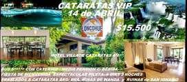 Cataratas VIP. Salida el 14 de abril de 2020