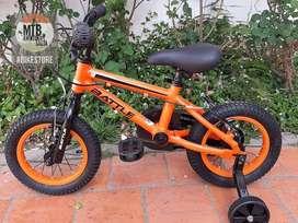 Bicicleta Rodado 12 de Aluminio