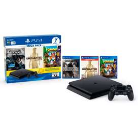 Consola Ps4 Mega pack 7