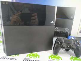 Ps4 fat original con 2 controles.