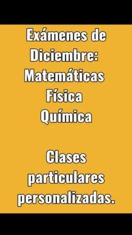 Clases de Matemáticas Fisica Y Quimica