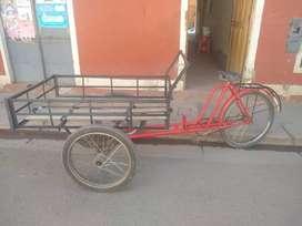 Triciclo  de carga en Puno
