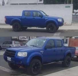Se vende camioneta ford ranger flamante reparado motor recien pintada