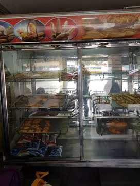 Vendo vitrina para panaderia