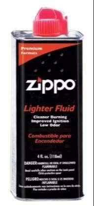 Fluido Combustible Gasolina Zippo 4 Oz Original