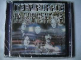 deep purple in concert '72 cd sellado