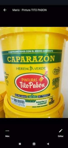 Coraza de Tito pabon caparazon