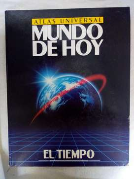 Libro ATLAS Mundo de Hoy .. Colecciones El Tiempo