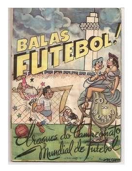 Álbumes Copas Mundiales De Fútbol Completos en Pdf Tipo Facsímil - Desde el Mundial de Brasil 1950 al de Rusia 2018